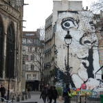 A Sunday in Paris…street art, les soldes, and yes, the caged birds sing.