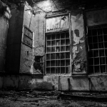FB Black & White 5 Day Challenge: Day 4 – Abandoned Asylum