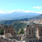 7 Days of Landscapes Photo Challenge – Day 3: Teatro Greco, Taormina, Italy