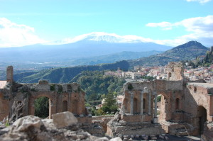 Teatro Greco - The Greek Theater - Taormina, Italy 2014